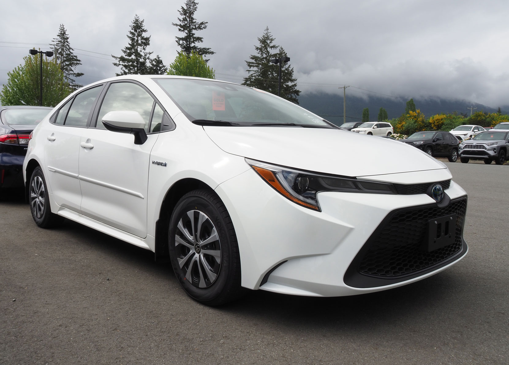 Our new 2021 Toyota Corolla Hybrid has arrived at Jim Pattison Toyota in Duncan (photo: West Coast Driver Training)