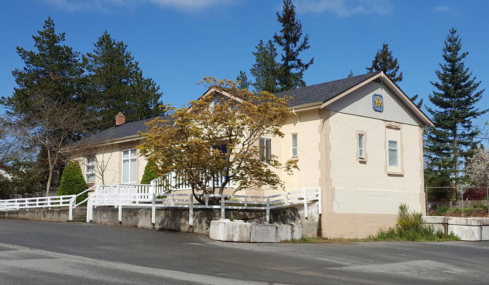 Morpeth Masonic Hall, 620 Morpeth Avenue, Nanaimo, B.C. We rent this venue for Air Brakes Courses in Nanaimo.